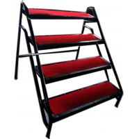 Wholesale Aluminum Anti - Slip 4 Stage Stairway Stepladder With Iron Handle from china suppliers