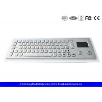 Wholesale Dust-proof And Liquid-Proof Panel Mount Industrial Kiosk Touchpad Keyboard from china suppliers