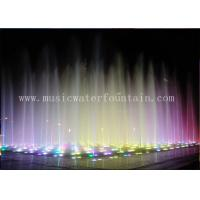 Wholesale Color Changing Outdoor Floor Fountains Waterfalls For Restaurants / Shopping Malls from china suppliers