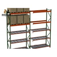 Wholesale 100kg-120kg / Layer Powder Coated Ral System Light Duty Storage Rack Color Pallet Shelf Ideas from china suppliers