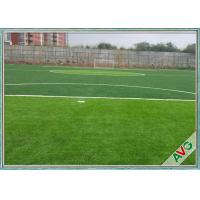Wholesale Strong Wear Resistant Degree Football Synthetic Grass 20 Stitches / 10 Cm from china suppliers
