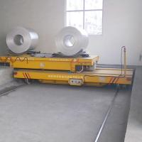 Wholesale Steel plant electric rail motorized ferry transfer cart from china suppliers