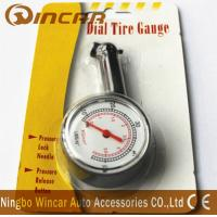Wholesale Plastic Body Digital Tire Air Pressure Gauge , Tire Gauge With Blister Card from china suppliers