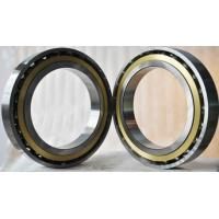 Wholesale High precision seal single row angular ball bearings with black rubber from china suppliers