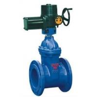Wholesale Bolted Bonnet Non Rising Stem Flanged Gate Valve Cast Iron With Electric Actuator from china suppliers