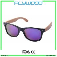Quality Bamboo Sunglasses With Colourful Frame TAC Revo Polarized Sunglasses Bamboo Pins Or Arms Sunshades for sale