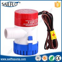 Quality Sailflo factory price 1500GPH non- auto submersible boat bilge pumps for marine yachat for sale