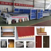 Wholesale China PVC Foil Vacuum Membrane Press Machine for Cabinet Door from china suppliers