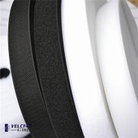 Wholesale Fire Resistant Custom Hook And Loop Tape Roll,Black And White Double Sided Velcro Tape from china suppliers