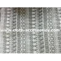Wholesale Wedding Dress Guipure Embroidery Lace Fabric Polyester Colorfast 15Y Per Roll from china suppliers