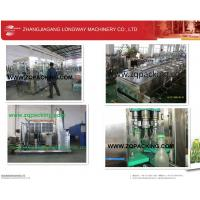 Wholesale fully automatic soda water filling capping packing machine from china suppliers