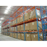 Quality Warehouse Storage Heavy Duty Pallet Racking Every Layer Equipped with Pallet Support Bars for sale