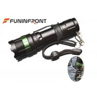 Wholesale 1000LMs CREE XM-L T6 Zoom LED Flashlight with Clip for Outdoor Night Ride, Walk from china suppliers