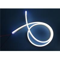 Wholesale Pink And Ice Blue Silicone Rope LED Ribbon Lights 12 / 24V IP67 from china suppliers