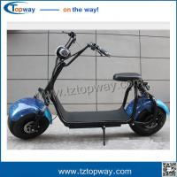 Quality double airbag rear shock absorber 2 wheels Electric Motorcycles citycoco scooter for sale