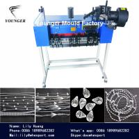 Quality roller blinds curtains plastic ball chain making machine for sale
