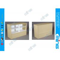 Wholesale Adjustable Wood Commercial Display Cabinets Wrap Counter Showcase from china suppliers