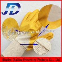 Buy cheap Free samples China wholesale nitrile coating cotton gloves from wholesalers