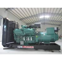 Wholesale 50Hz Cummins Diesel Generators , 1000 Kilowatt / 1250KVA from china suppliers
