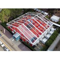 Buy cheap Big Transparent Clear Span Tents With Clear Top For EXhibition / Parties from wholesalers
