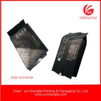 Wholesale Gusseted Plastic Bags 100 micron , heat seal Tea Packaging Pouches from china suppliers