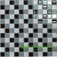 Wholesale Anti-dust 300mm*300mm Glass Crystal Mosaic Tile for House Decoration,Fade resisitance from china suppliers