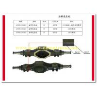 Wholesale sinotruk spare part rear axle housing assy part number AZ9981330065 from china suppliers