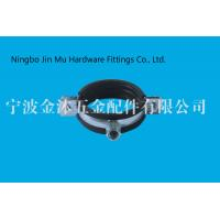 Wholesale Professional Industrial Pipe Clamps , Water Tube Coupling Rubber Coated Pipe Clamps from china suppliers