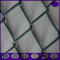 Wholesale Hot Used in Australia Beautiful PVC Coated 55*55mm Chain Link Fence from china suppliers