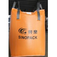 Wholesale Orange 500kg big bag FIBC with filler cords , Large FIBC Jumbo Bag from china suppliers