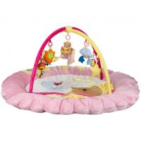 Wholesale Pink Baby Play Gym and Mat , Baby Growing Baby Musical Play Gym from china suppliers