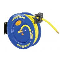 Wholesale Goodyear 3/8-Inch 500 Feet Steel Hose Reel with Swivel Arm and Mounting Bracket 300PSI from china suppliers