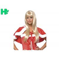 Wholesale Sexy Hightlights Soft Blond Or White Straight Long Synthetic Wigs For New Stylish Party from china suppliers