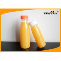 Wholesale 220ml / 330ml PET Juice Bottles / BPA free Small Plastic Bottles with Lids from china suppliers