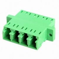 Wholesale High Precision LC Quad Fiber Optic Adapter with Flange or without Flange for CATV System / Local Area Network from china suppliers