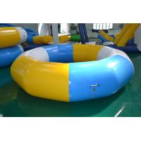 Wholesale Plato Inflatable Obstacle Courses Trampoline On Water For Play from china suppliers