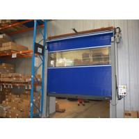 Wholesale Collision reset PVC curtain soft edge high speed door industrial use from china suppliers