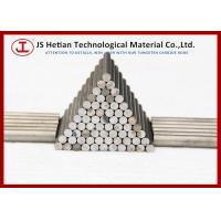 Wholesale 92 - 92.3 HRA Tungsten Carbide round bar / solid carbide rods with CO 10% from china suppliers