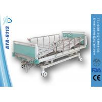 Wholesale Luxurious Multifunctional Manual Hospital Adjustable Bed For Patient from china suppliers