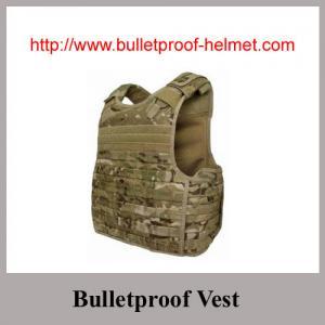 Wholesale Wholesale NIJ IV Desert Color Waterproof 44MAG-Resistant Bulletproof Vest from china suppliers