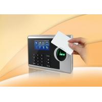 Wholesale Free Software Fingerprint Time Clocks For Small Business , 3 Inch TFT Color Screen from china suppliers