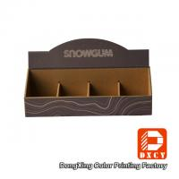 Wholesale Retailing Stores Custom Cardboard Display Stands Sustainable Corrugated Elegant Design from china suppliers