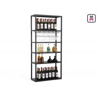Buy cheap Custom Size Metal Material Wine Rack Shelf  Rustic Chic Style For Restaurant  Bar from wholesalers