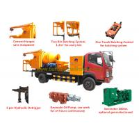 Wholesale ISO/CE/BV/ROHS Concrete Mixer Pump Truck 8Mpa Outlet Pressure 100kw Generator from china suppliers