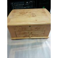 Wholesale Beige Lacquer Wooden Presentation Boxes For Jewellery Velvet Inside from china suppliers