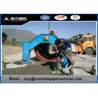 Wholesale Reinforced Drainage Water Cement Pipe Machine , Hume Pipe Making Machine from china suppliers
