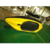 Wholesale Single Person Inflatable Sea Kayak Whitewater Inflatable Kayak Airmat Floor With Cover from china suppliers