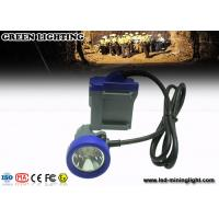 Wholesale high performance blue cover Cordless Cap Lamp Hard Hat Lights 4000lux brightness from china suppliers