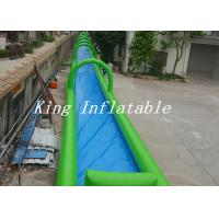 Wholesale Single Lane Inflatable Street Water Slide PVC Tarpaulin Slip N Slide For Adults OEM from china suppliers