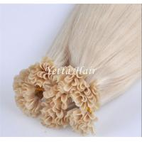 Wholesale Professional Full Cuticles Pre Bonded U Tip Hair Extensions Nail Hair from china suppliers